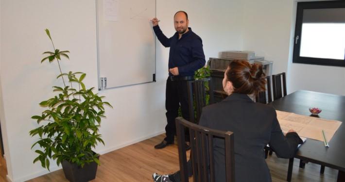 Bauherren Podcast Schweiz, Schulung